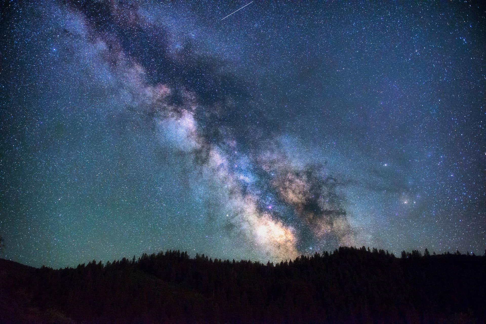 nebula in the sky