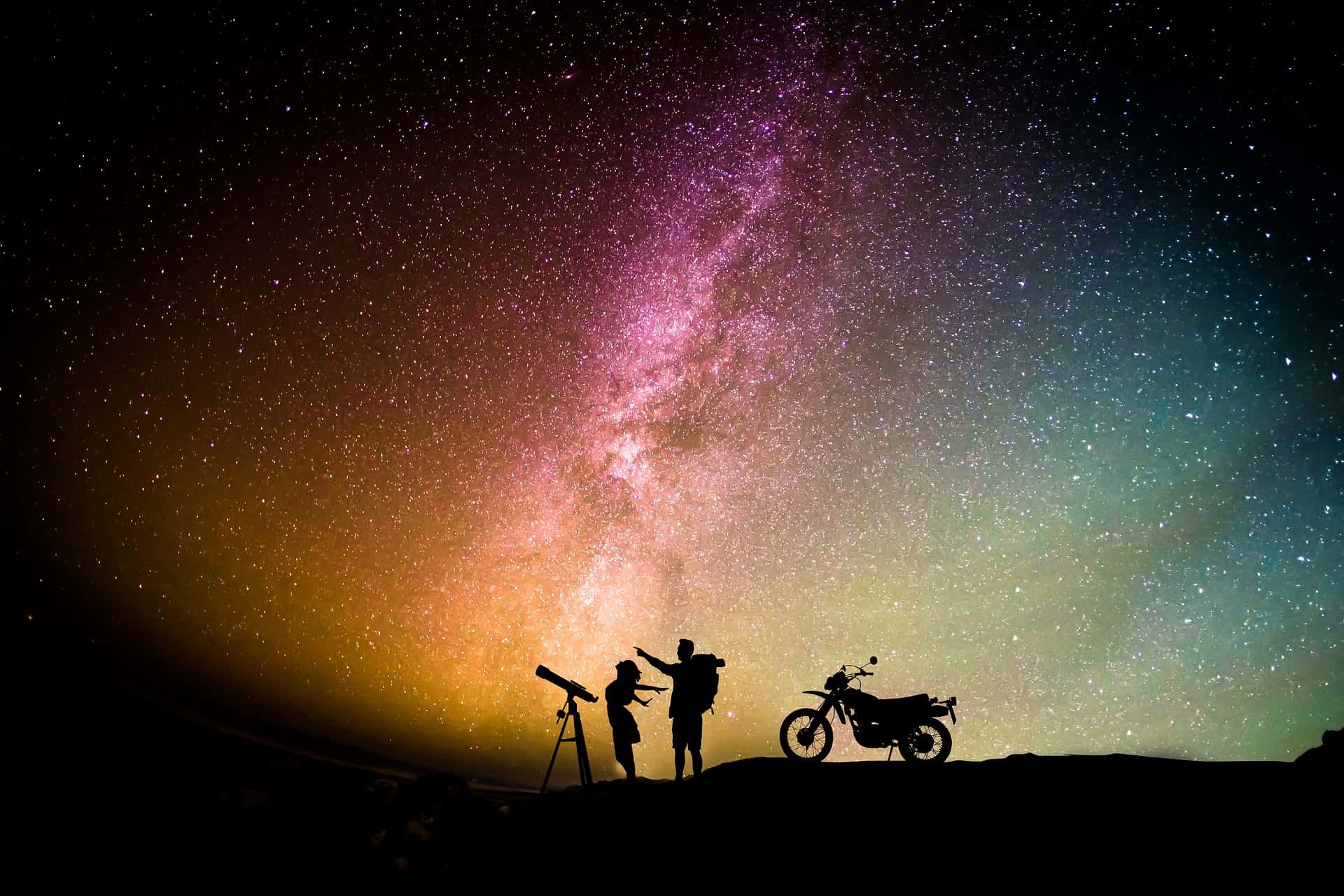 using a dobsonian to see the galaxy