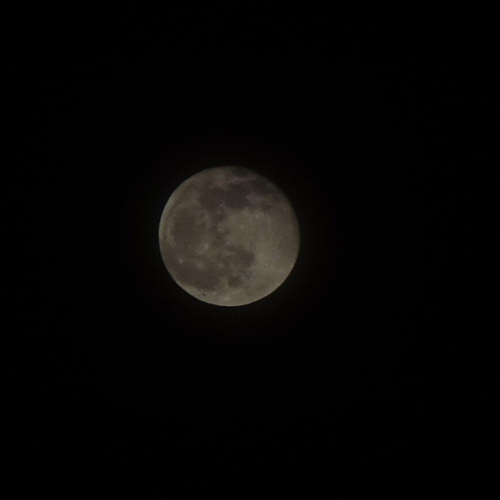 Moon closeup using the looney-11 rule