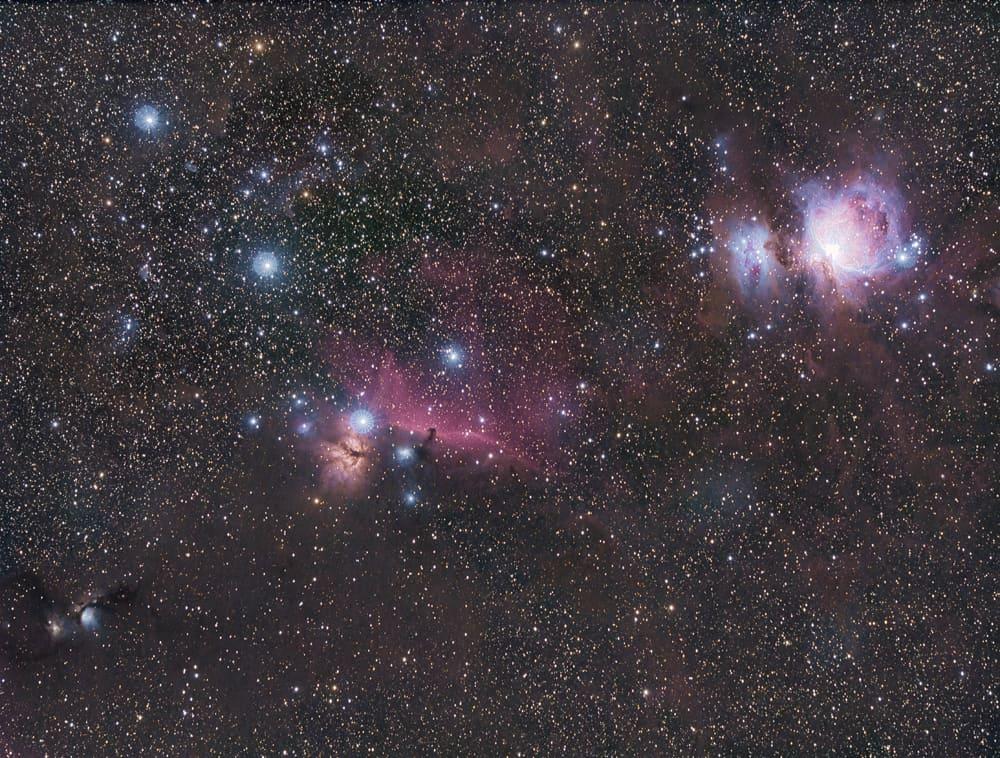 wide field image of deep space