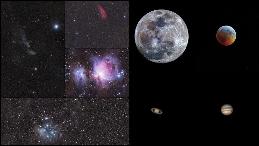 Star Adventurer allows to photograph the deep sky