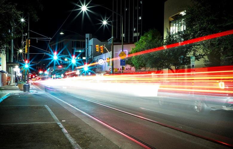 effect of a longer shutter speed