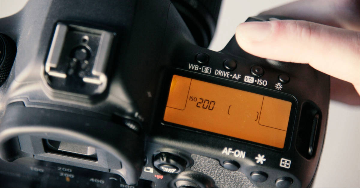 settings on a camera