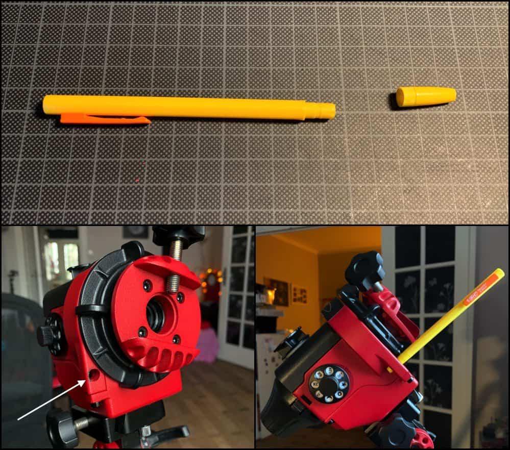 DIY Pole Finder to center Polaris